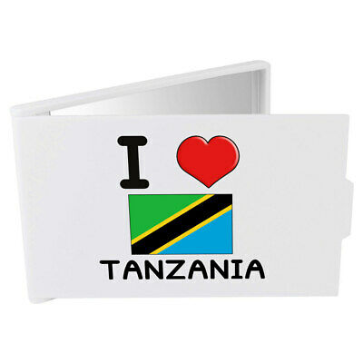 'I Love Tanzania' Compact / Travel / Pocket Makeup Mirror (CM00000145)