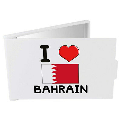 'I Love Bahrain' Compact / Travel / Pocket Makeup Mirror (CM00000237)