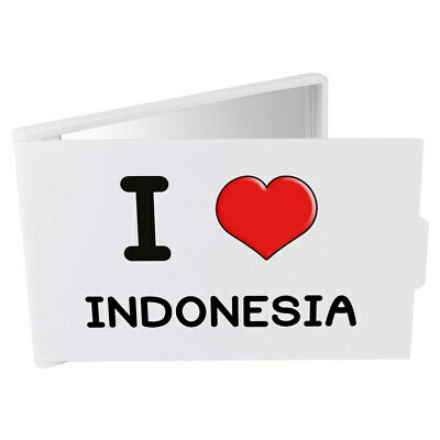 'I Love Indonesia' Compact / Travel / Pocket Makeup Mirror (CM00000216)