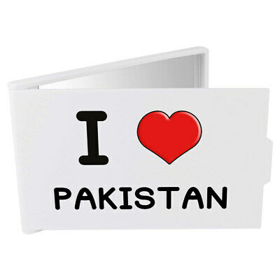 'I Love Pakistan' Compact / Travel / Pocket Makeup Mirror (CM00000226)