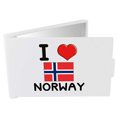 'I Love Norway' Compact / Travel / Pocket Makeup Mirror (CM00000257)