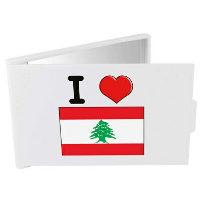 'I Love Lebanon' Compact / Travel / Pocket Makeup Mirror (CM00000277)