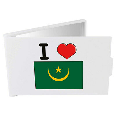 'I Love Mauritania' Compact / Travel / Pocket Makeup Mirror (CM00000180)