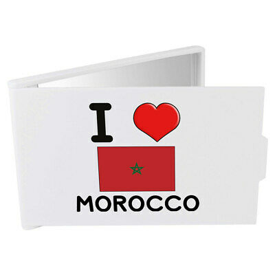 'I Love Morocco' Compact / Travel / Pocket Makeup Mirror (CM00000139)