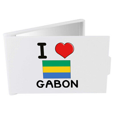 'I Love Gabon' Compact / Travel / Pocket Makeup Mirror (CM00000125)