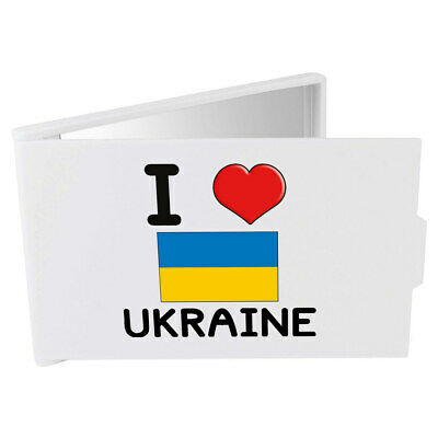 'I Love Ukraine' Compact / Travel / Pocket Makeup Mirror (CM00000146)