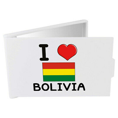 'I Love Bolivia' Compact / Travel / Pocket Makeup Mirror (CM00000115)