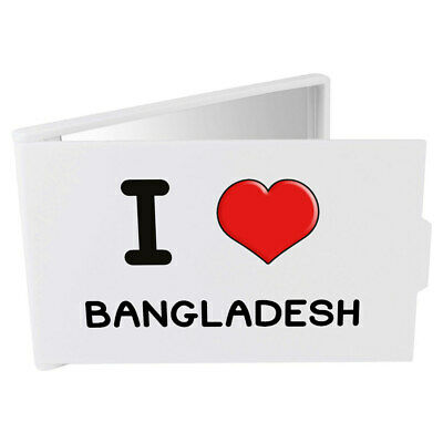 'I Love Bangladesh' Compact / Travel / Pocket Makeup Mirror (CM00000196)