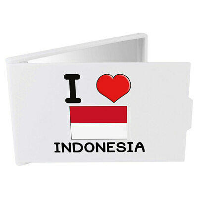 'I Love Indonesia' Compact / Travel / Pocket Makeup Mirror (CM00000130)