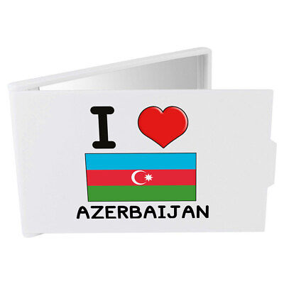 'I Love Azerbaijan' Compact / Travel / Pocket Makeup Mirror (CM00000109)