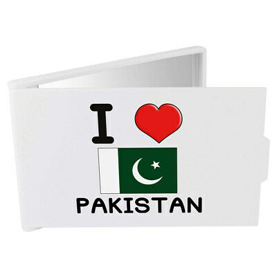 'I Love Pakistan' Compact / Travel / Pocket Makeup Mirror (CM00000140)