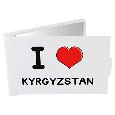 'I Love Kyrgyzstan' Compact / Travel / Pocket Makeup Mirror (CM00000218)
