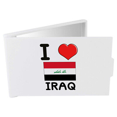 'I Love Iraq' Compact / Travel / Pocket Makeup Mirror (CM00000131)