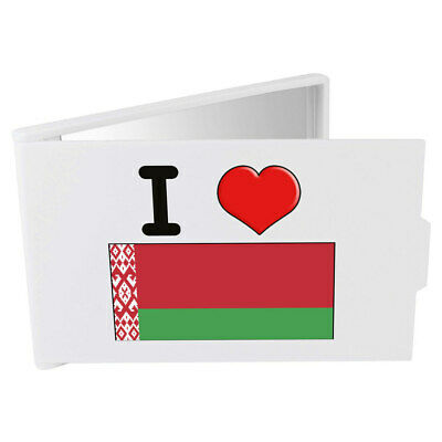 'I Love Belarus' Compact / Travel / Pocket Makeup Mirror (CM00000154)