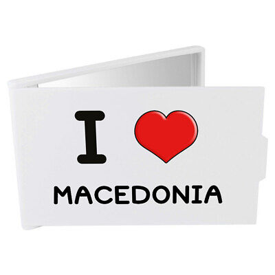 'I Love Macedonia' Compact / Travel / Pocket Makeup Mirror (CM00000220)