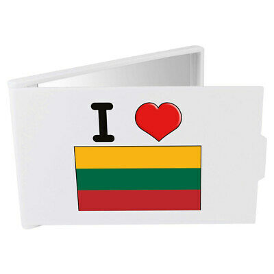 'I Love Lithuania' Compact / Travel / Pocket Makeup Mirror (CM00000176)