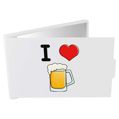 'I Love Beer' Compact / Travel / Pocket Makeup Mirror (CM00000263)