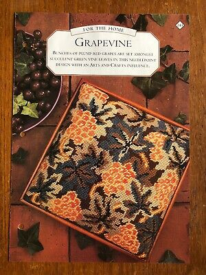 Grapevine Tapesty / Needlepoint Chart **from a magazine**