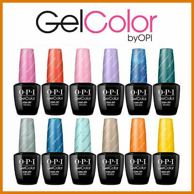 OPI GELCOLOR SOAK OFF - Esmaltes de Uñas TONOS 2019 15ml GEL COLOR PERMANENTE