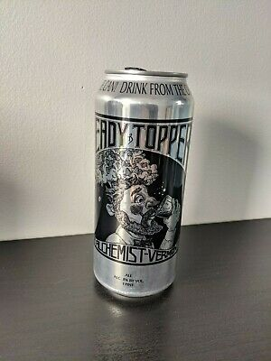 Heady Topper IPA beer CAN empty The Alchemist Waterbury Vermont brewery 16 oz