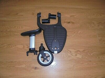 BUGABOO Comfort wheeled buggy board with seat + Bee  adaptors EX CON