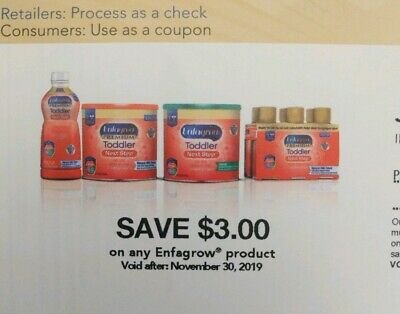 Enfamil Enfagrow formula coupon check, $16