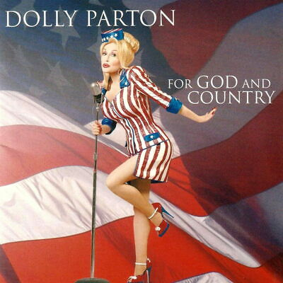Dolly Parton For God and Country CD New