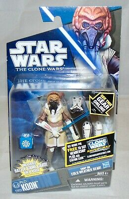 "New 2011 Hasbro Star Wars The Clone Wars 3.75"" Plo Koon Action Figure Sealed"