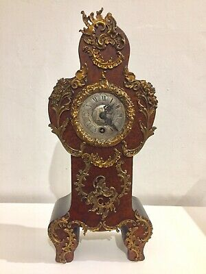 Beautiful Lenzkirch Miniature Grandfater Bracket Clock 1885.