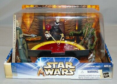 New 2003 Hasbro Star Wars Attack Of The Clones Geoonosian War Chamber Sealed