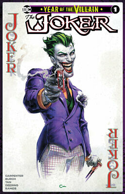 Joker Year Of The Villain #1 Crain Yotv Variant Dc Comics Batman Harley Quinn