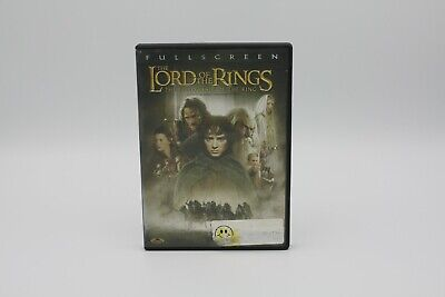 The Lord Of The Rings: The Fellowship Of The Ring (DVD, Full screen) EN/FR