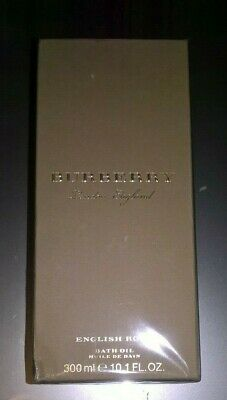 Burberry London English Rose Bath Oil 300ml New & Sealed RRP £70