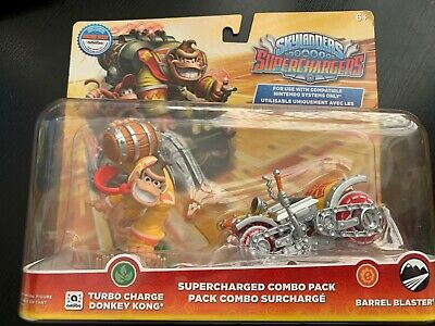 Donkey Kong Turbo Charge Amiibo Skylanders Nintendo Brand New In Box Aus Pal
