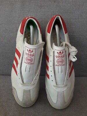 ADIDAS VIENNA UK 10 Made In The Philippines Vintage City