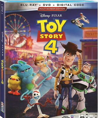 Toy Story 4 - BLU-RAY ONLY case/artwork - DVD or Digital Not Included