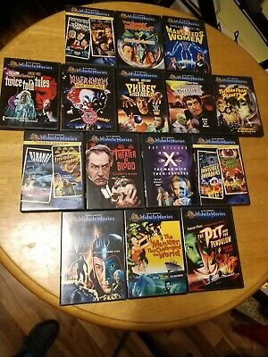 Midnite Movies LOT of 15 dvds...VERY RARE SCI FI
