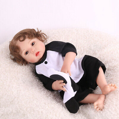 "16"" Realistic Reborn Baby Doll Full Body Simulation Vinyl Silicone Gifts Dolls"