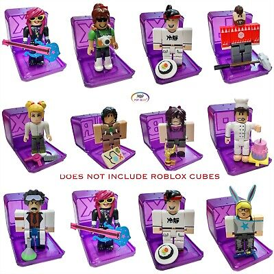 Details About Roblox Celebrity Collection Series 3 Mystery Pack Purple Cube - Roblox Celebrity Gold Purple Series 3 Mystery Action Figures