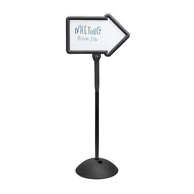 "Safco Write Way Dual-sided Directional Sign - 1 Each - 18"" Width x 64.3"" Height"