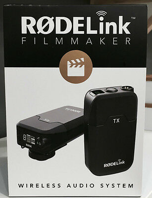Rode Microphones RODElink Wireless Filmmaker Kit  w/ Fast Shipping- 2 day ship!