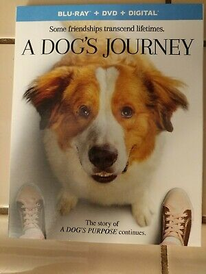 NEW -  A Dog's Journey (Blu-ray + DVD + Digital) with Slipcover