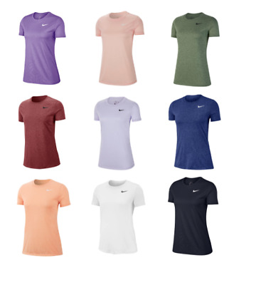 Nike T Shirts Womens XS-2XL Dri Fit Tees Authentic New Training Running More