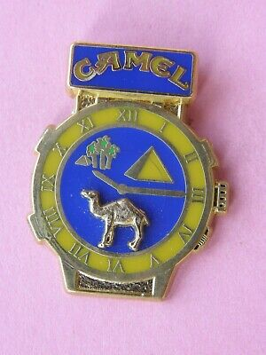 pin's MONTRE CAMEL variante 5 - rallye , tabac