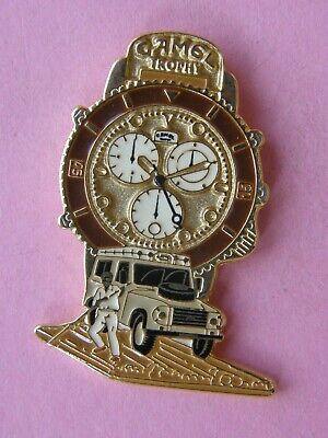 pin's MONTRE CAMEL variante 6 - rallye , tabac