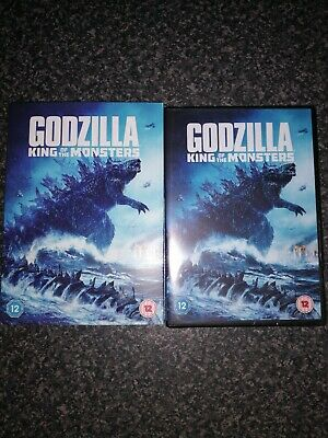 Godzilla: King of the Monsters [2019] (DVD) new.and sealed genuine UK DVD