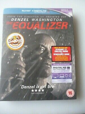 The Equalizer   -   Blu-Ray     ( New/Sealed )