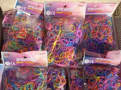 Wholesale Joblot 40 Packets Of Loom Bands Liquidated Bankrupt Clearance Stock