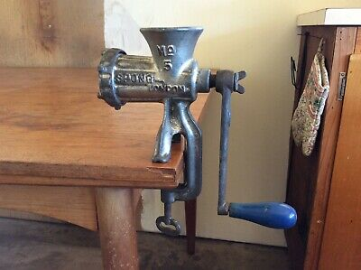 Vintage Spong No. 5 Meat Mincer Made in England - VGC