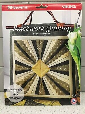 Husqvarna Viking Embroidery Pattern #238 - Patchwork Quilting - CD